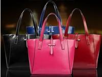 women leather handbags 2014 new women handbag Fashion women shoulder bag diagonal bag handbag factory
