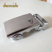 Men belt male belt buckle head strap automatic buckle cowhide belt buckle wide belt buckle belt head