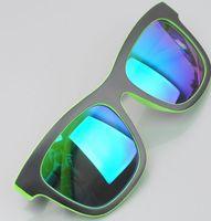 Double color coating Super cool Sunglasses women and men 2014 new travel style sun glasses ocolos de sol n394