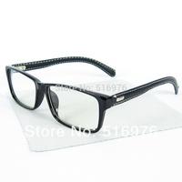 2015 hOT Classics Square Oculos Brand Eyewear Leather Glasses Frame Optical Frame Custom Optical Lense 10pcs/lot WL7042