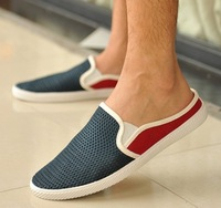 Summer popular shoes network men's hole shoes fashion breathable shoes pedal shoes lazy male