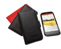 T328W Genuine Leather Cover Case For HTC  Desire V T328W Wallet Leather Cover Case , 3 Color.