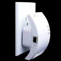 Wireless 802.11N Wifi Repeater Router Range Expander Signal Booster 300Mbps