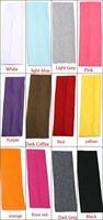 Free Shipping Hair Wraps Cotton Stretch Headbands (7cm wide /2.5inch) Yoga Headbands