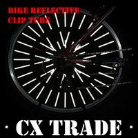 Free shipping New 120PCS/Lot bicycle wheel spoke reflector cycling safety Warning bike reflective clip tube #8305