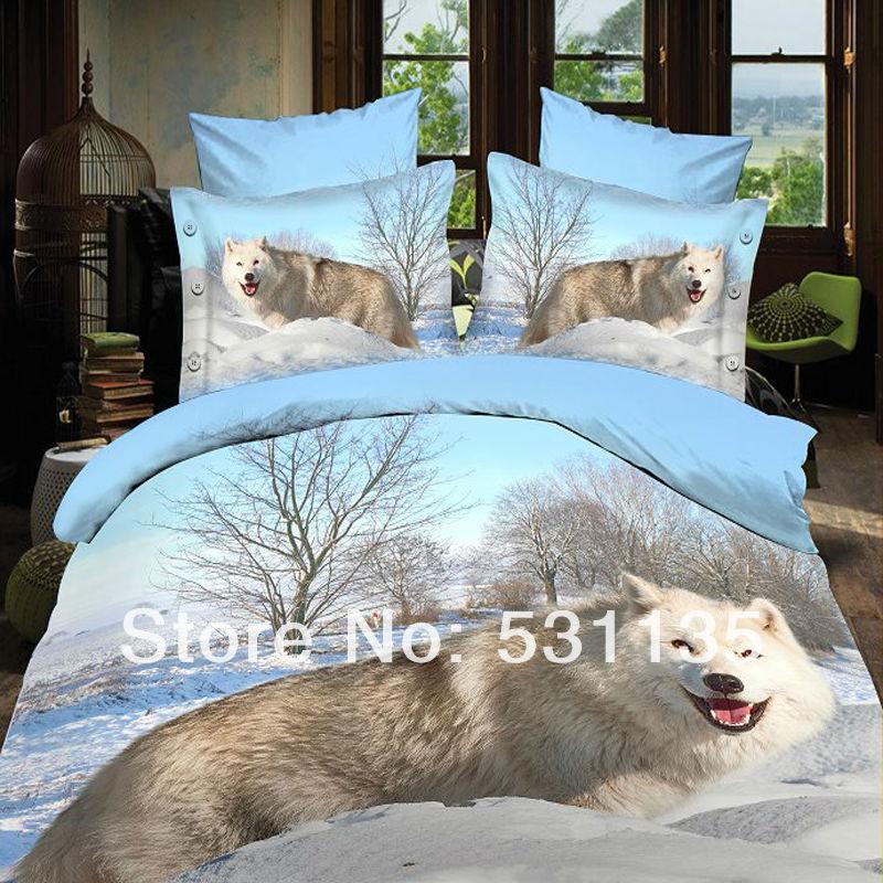 Online kopen wholesale witte wolf dierlijke uit china witte wolf dierlijke groothandel - Bed grijze volwassen ...
