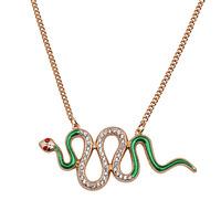 Golden Fashion Long Design Snake Necklace  Wholesale