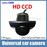 Universal CCD HD night vision Car front view camera car rear view camera fit all model like Hyundai solaris focus kia k2 corolla