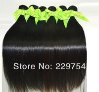 Virgin remy brazilian human hair 100% human hair natural color 60g / Pcs 6 Pcs/Lot  in stock Free Shipping
