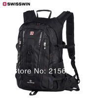 Free shipping SwissWin laptop backpack for 15.6 inch notebook computer bag multifunctional travel schoolbag wenger sw9972