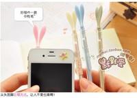 1lot=24pcs cute lovely dustproof shaped black gel pen kawaii gel pen for promotional gifts