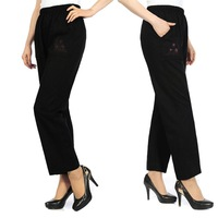 New Women's Pure Color Harem Pants Long Loose Casual Small Leg Opening Trouser big size 5 styles free shipping