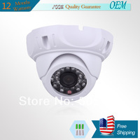 700TVL Night Vision SONY CCD  Wide Angle Security CCTV Surveillance Dome Camera