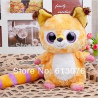 "Big size - Yoohoo Friends Stuffed Plush Iberian lynx toy - 8"" Libby, Lenny,Fabrics Stuffed big eyes soft Toy"
