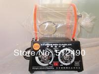 kt6808 Rotary Tumbler, Jewelry polishing machine,jewelry tumbling machine,necklace polishing tumbler,gold burnishing tumbler