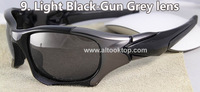 Free shipping 8colors sport sungless Pitboss Polarized sunglasses oculos masculino gafas men google glass anteojos pit boss II