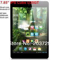 New! Cube U35GT Quad Core RK3188 1GB RAM+8GB Android 4.2 dual camera mini pad 7.9 inch IPS capacitive Tablet PC Black White