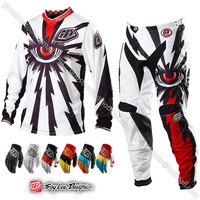 Защитная экипировка для мотоциклистов Troy Lee Designs GP Cyclops MX Offroad Motorcycle Motocross Enduro jersey pant glove MTB DH Cycling shirt Kit Wear Clothing
