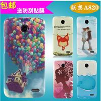 Lenovo A820 Phone Case Transparent Edge Painted phone case