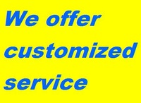 We offer customized service(LOGO&Print&Etc),please pay extra charges. Details please contact with us