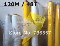 5 meters Silk Screen Printing Mesh Fabric - Width 1.27m, White, 120M Mesh Count 48T