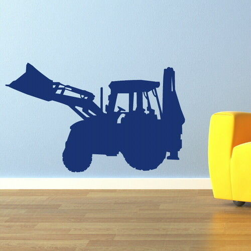 Tractor Wallpaper For Kids Tractor Kids Art Wall Decal
