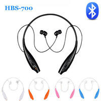 HBS-700 Wireless Stereo Bluetooth Headphone Handsfree Neckband Style Headset Earbud For iPhone Samsung LG HTC Nokia Cellphones