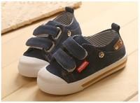 2014 New arrival HOT SALE children sneakers boys and girls denim canvas shoes jeans kids cowboy 2 colors size 21-25