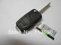 VW Golf 4 5 6 Passat B5 B6 Polo Bora Touran 3 Buttons Replacement  Car Case Square Folding Key Shell Blank