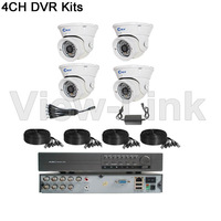 CWH-DW5104-4331HB home surveillance dome cctv camera video sets