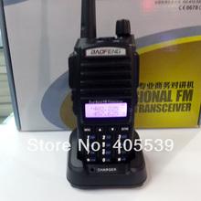 Free shipping new version Baofeng UV-89 Walkie Talkie Dual display Dual band VHF136-174MHZ & UHF400-520MHZ  two way radio UV89