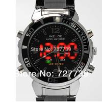 2014 New Arrival Digital and Quartz Watches Original Brand Fashion Watch For Man Famous Brand WEIDE Alarm Clock 3TM