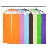 4 Sizes Multi-colors Home Dress Clothes Garment Suit Cover Bags Dustproof Storage Protector storage bag free shipping