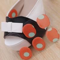 30pcs /Lot Soft Comfort Silicone Gel Cushion Insoles Anti-Slip Shoe Pads Wholesale Hot BFNJ-34