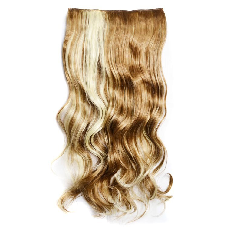 HOT NEW Color&Length Clip In Hair Extensions Hair Free Shipping designs for women clip in hair extensions 60cm(China (Mainland))