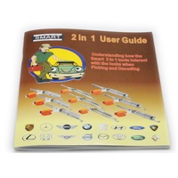 Free Shipping Smart 2in1 Manual Book Locksmith Tools for Smart 2 IN 1 User Guide for Smart 2 in 1 locksmith manual