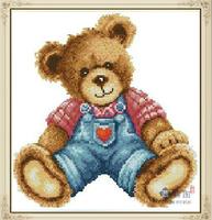 Diy  Cross Stitch Diamond Painting Cartoon Bear Full Embroidery Resin Rhinestone Square Drill Needlework Kits Mosaic Home Decor