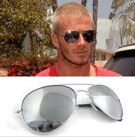 2014 Newest 2PCS /L0T  reflectorised  sunglasses male sunglasses female star style colorful eye wear sunglasses Free shipping