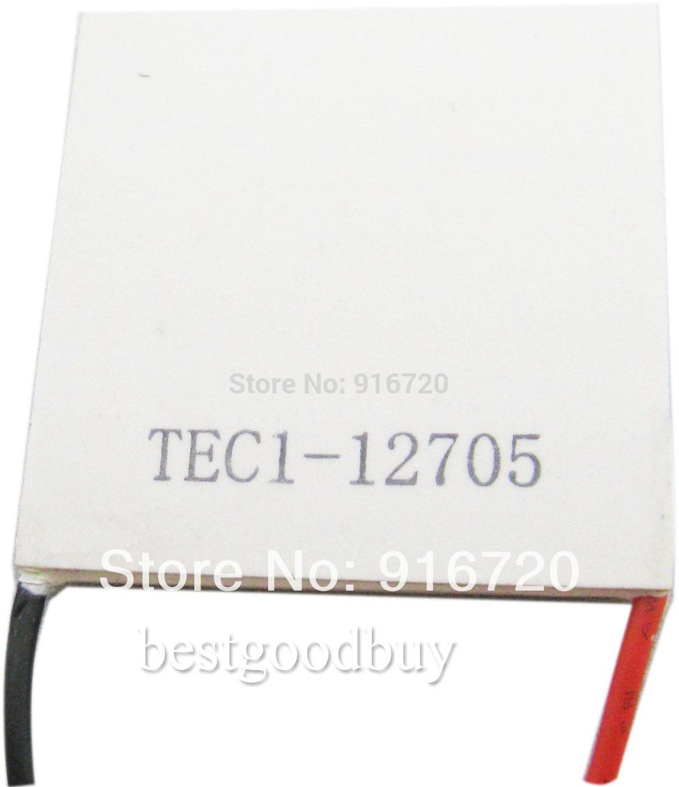 40 milímetros x40mm TEC1-12705 TEC Thermo Elétrica Colling Termoelétrica Peltier cooler(China (Mainland))