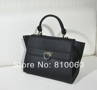 2014 new Classicial  fashion satchel bag women genuine leather handbags designer Women Messenger Bags round circle pandora