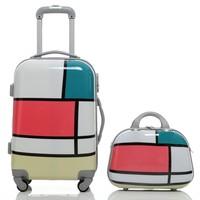 род Новая волна моды пакет Хань издание мешок 20-дюймовый среднего размера багажа на борту пакет