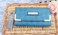 Kardashian kollection 2014 fashion plaid kk women's wallet hot-selling