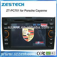 ZESTECH car dvd player for Porsche Cayenne DVD gps navigation system with car stereo video dvd support Analog TV