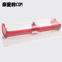 Transparent plastic eyeglass box ,glasses case, reading glasses box, pvc eyewear Cases