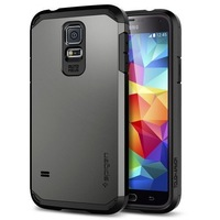 For galaxy s5 New 2014 SLIM Tough Armor SPIGEN SGP case for Samsung galaxy s5 i9600 Shipping free