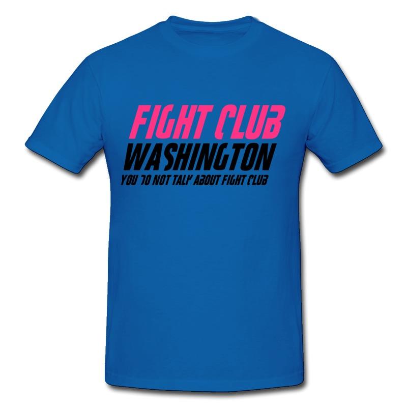 Custom Regular Men Shirt Fight Club Washington Love Union Teeshirts for Man Fashion Style(China (Mainland))