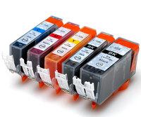 CLI-526 inkjet cartridge 526BK/526C/526M/526Y/PGI-525BK for Canon PIXMA iP4850/iX6250/MX715/MG5150/MG6250 printer(5 Color/set)
