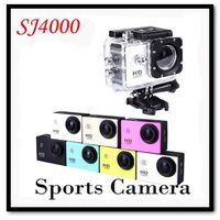 Sport Action Camera Diving Full HD DVR DV SJ4000 Min 30M Waterproof extreme Sports Helmet Action Camera 1920*1080P G Senor