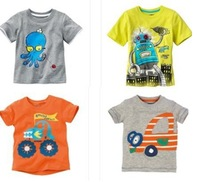 Wholesale - BOY's T-shirt Children's T-shirts baby t shirts vests jumpers -NEW 2014 hot sell girls t-shirts -ZLM435A