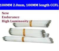 Free shipping 20pcs 100MM length LCD CCFL lamp backlight tube,100MM 2.0mm, 100MM length CCFL light
